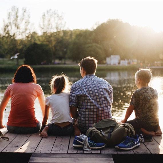 Grafologia familiare, famiglia con figli